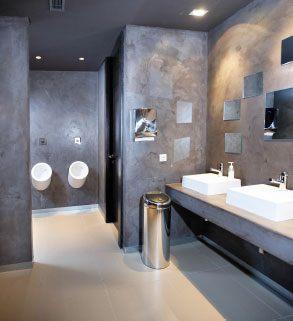 Proyectos de microcemento en baños y aseos