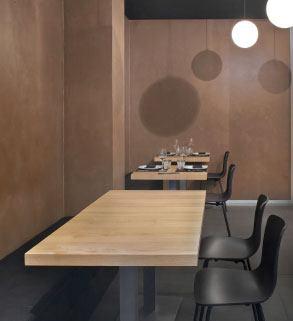Proyectos de microcemento en restaurantes