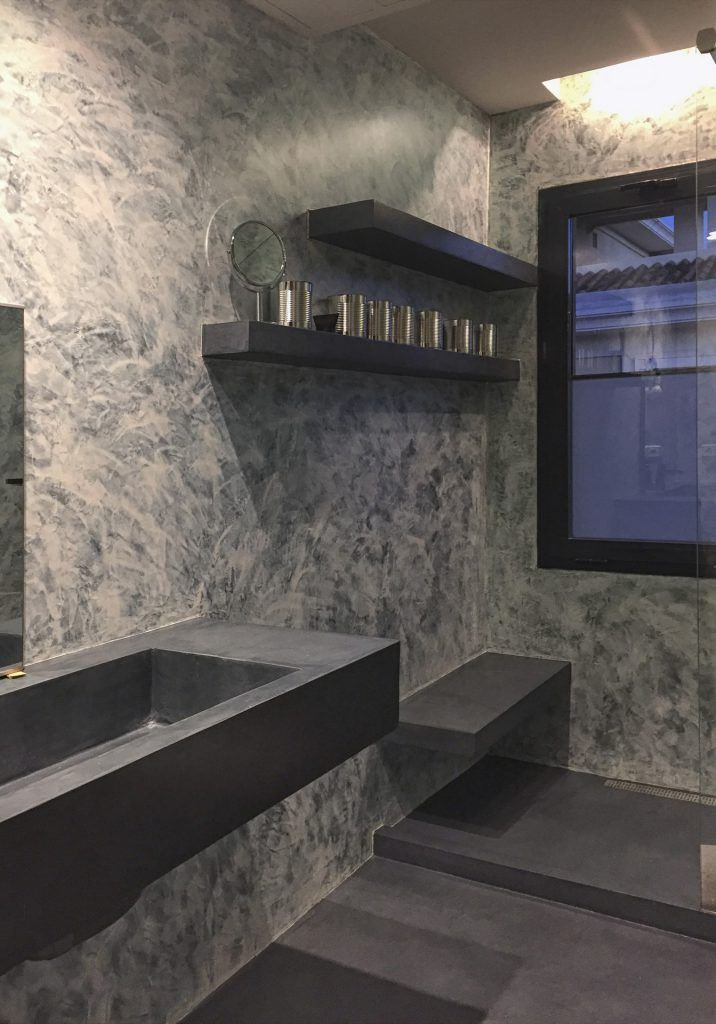 reformar tu baño con microcemento por sus diseños únicos