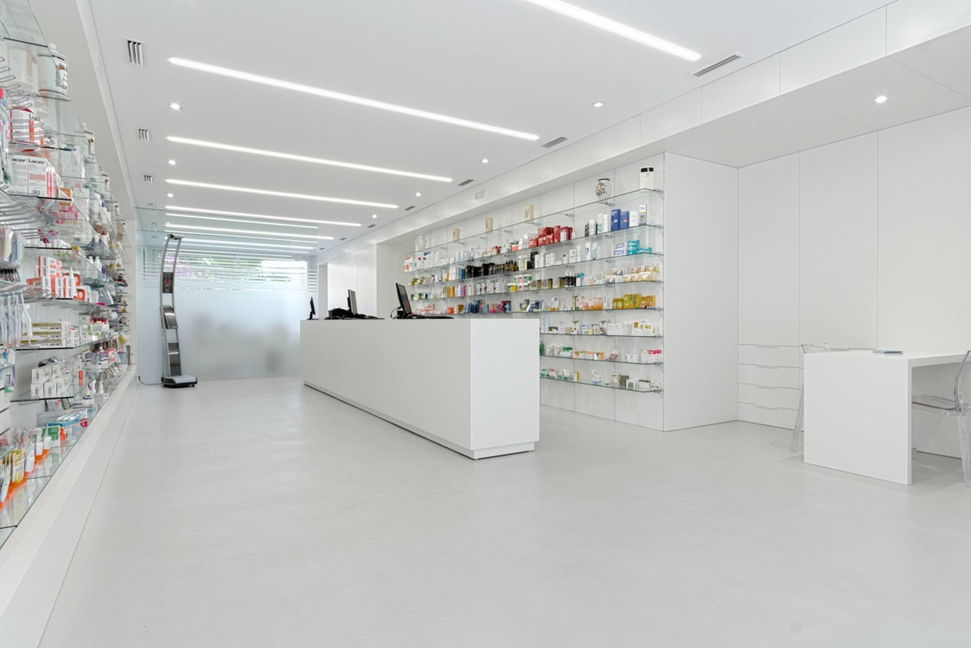 Microcemento de tecnocemento en farmacias