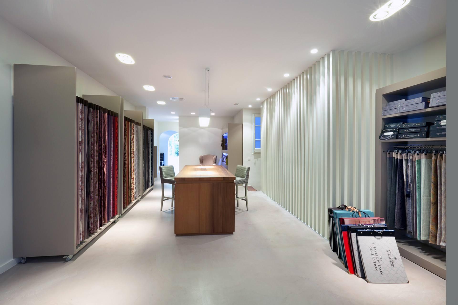 Microcemento de Tecnocemento en tiendas de telas