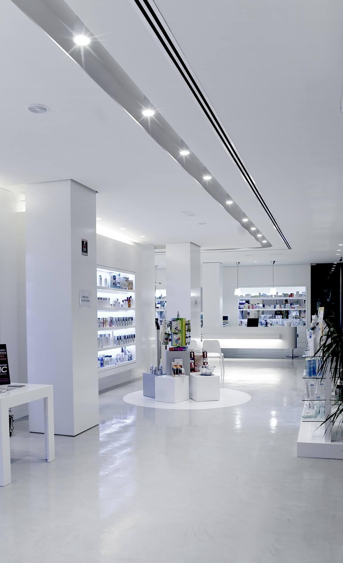 Microcemento en locales comerciales