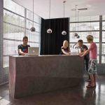 Microcemento en oficinas comerciales