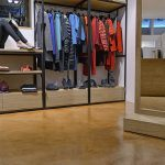 Microcemento para tiendas de ropa