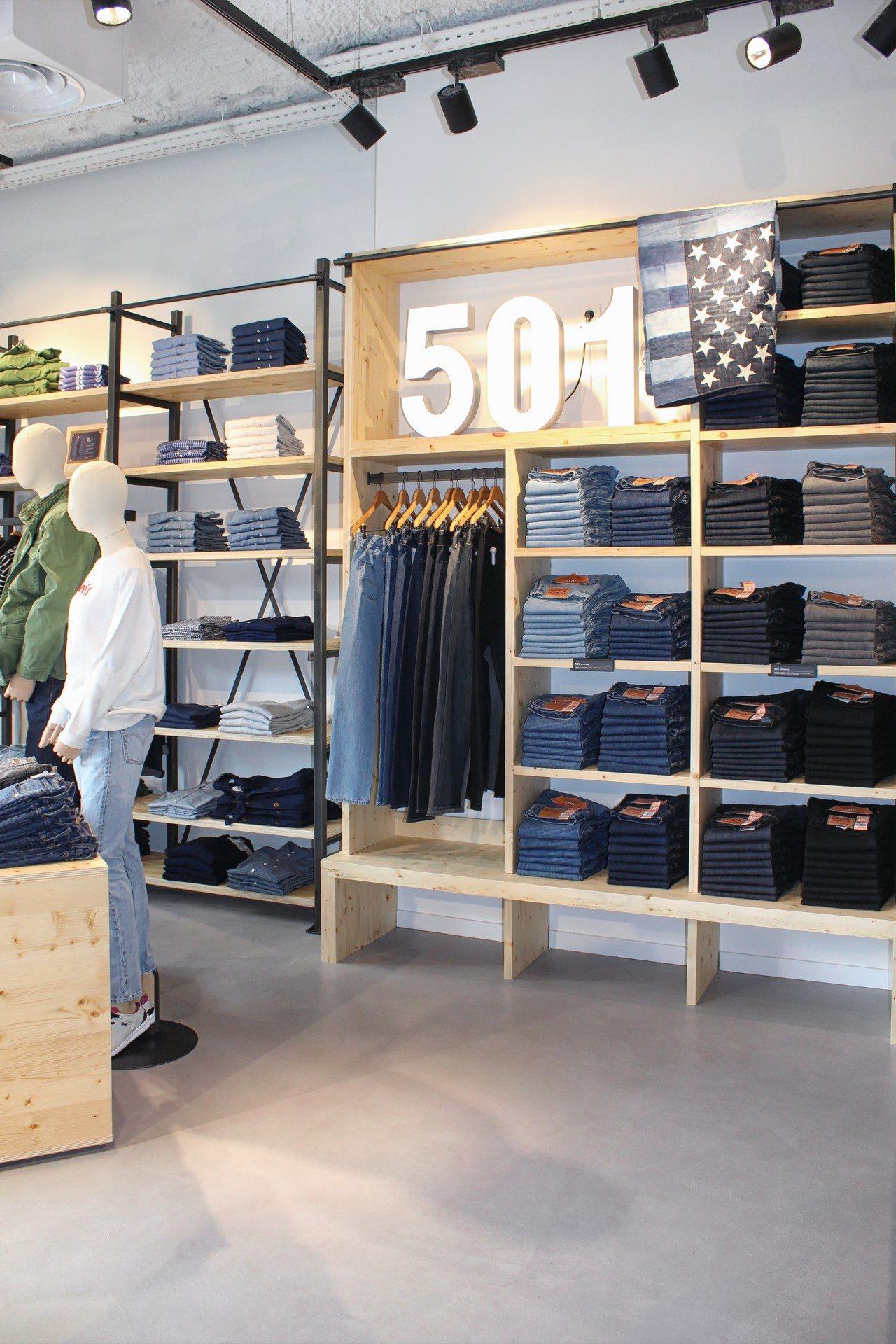 Microcemento de Tecnocemento en tiendas de ropa