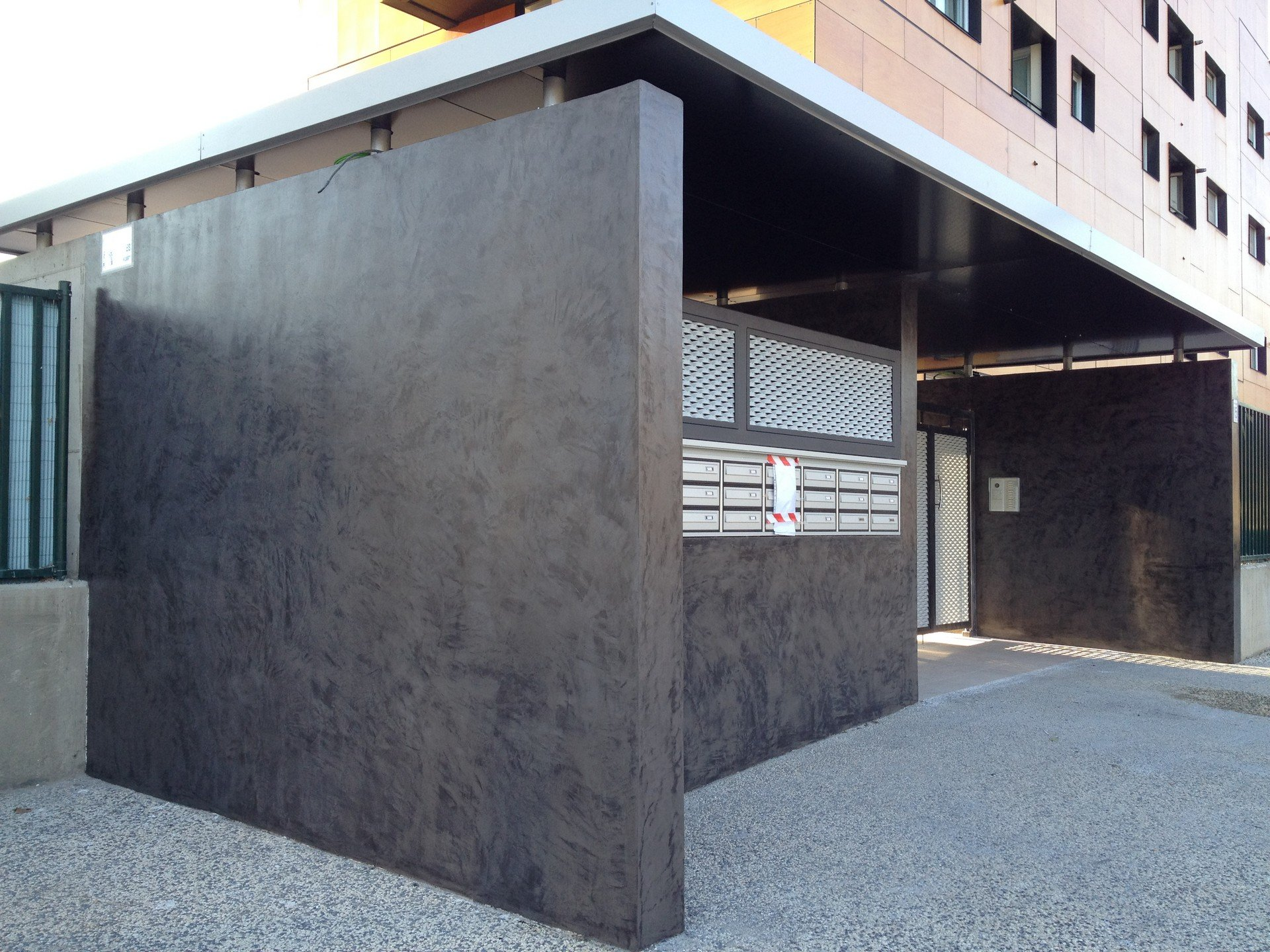 Microcemento para exteriores revestimientos de exterior - Revestimientos de exteriores ...
