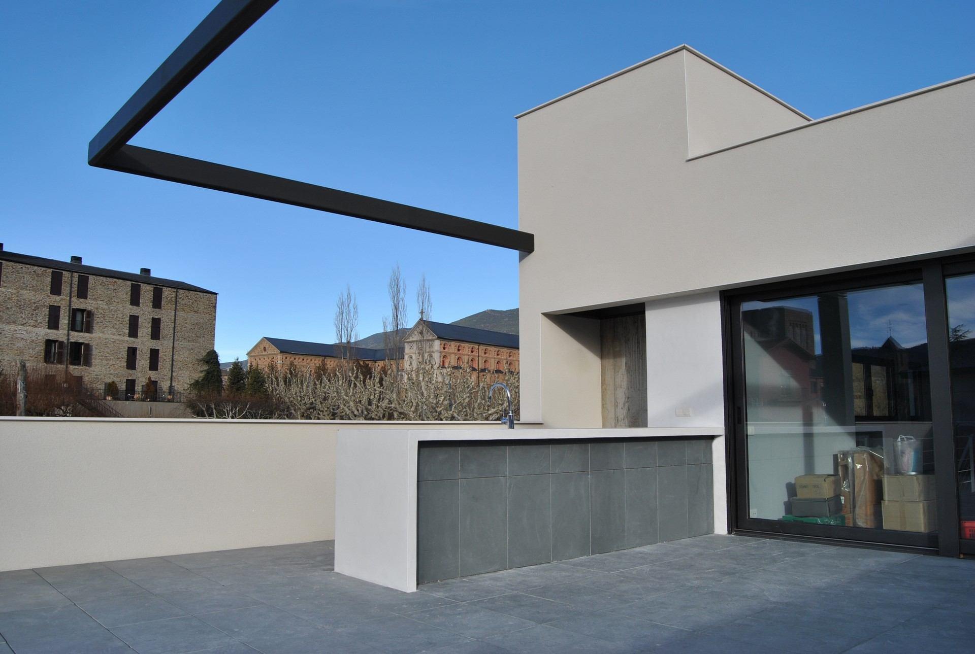 Microcemento para exteriores, revestimientos de exterior